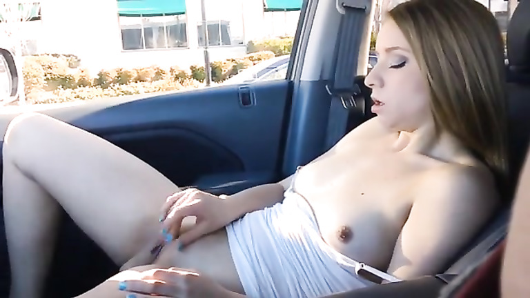 Girlfriend Naked In Car photo 13