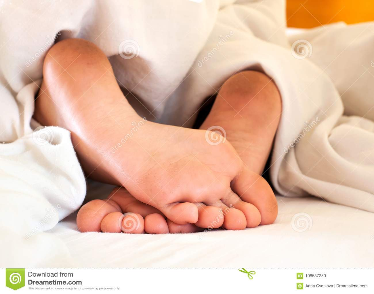 Dirty Feet In Bed photo 1