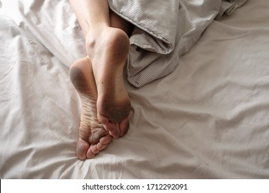 Dirty Feet In Bed photo 16