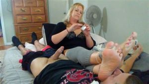 Old Woman Foot Fetish photo 25