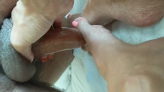 Footjob With Toes photo 15