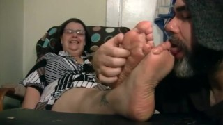 Old Woman Foot Fetish photo 9