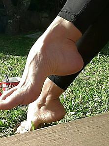 Mature Footjob With Arches photo 24