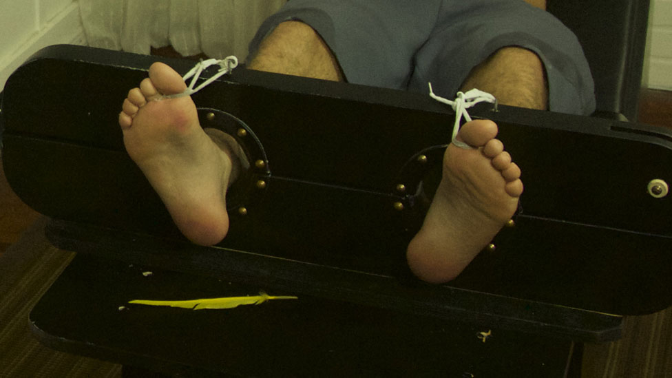 Foot Tickle Torture photo 12