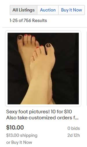How Much Do Feet Pics Cost photo 4
