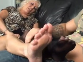 Old Woman Foot Fetish photo 6
