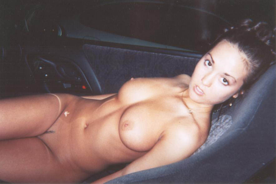 Girlfriend Naked In Car photo 14