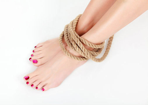 Tied Up Toes photo 5